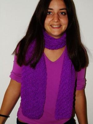 bufanda lila 2
