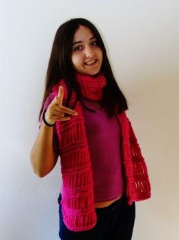 bufanda rosa 3